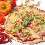Fresh and tasty pizza — Stock Photo #7181854