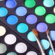 Stock Photo: Colorful eyeshadows