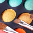 Colorful eyeshadows — Stock Photo #7182281