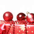 Composition of Christmas decorations — Stockfoto