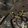 Stock Photo: Background of old mechanism