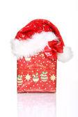 Prezent na Boże Narodzenie — Zdjęcie stockowe