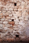 The old stone wall. — Stock Photo