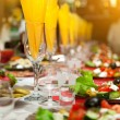 Served for a banquet table - Stock Photo