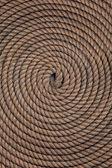 Rope folded helix — Stock Photo
