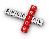 Special price — Stock Photo