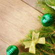Christmas decoration border — Stock Photo #7554480