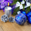Christmas decorations — Stock Photo #7778856