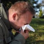 Flu or allergy — Stock Photo