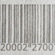 Bar Code background — Stock Photo