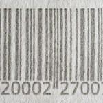 kod kreskowy tło — Zdjęcie stockowe