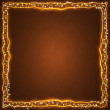 Royalty-Free Stock Photo: Frame of the burning elements