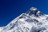 Mount Everest Summit — Stock Photo