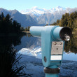 Stock Photo: Public binocular
