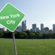 NY citie — Stock Photo