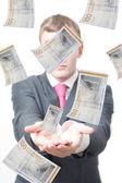 Préstamos de dinero — Foto de Stock