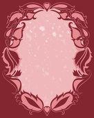 Grunge hintergrund. schöne abstrakte vektor-illustration. — Stockvektor