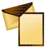 Vector Celebratory envelope — Stock Vector