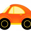 Royalty-Free Stock Vector Image: Vector cartoon cars on a white background