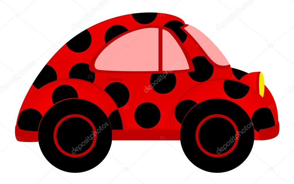 Vector cartoon cars on a white background  Stock Vector #7229624