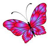Linda borboleta para um design — Vetor de Stock