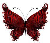 Piękny motyl do projektu — Wektor stockowy
