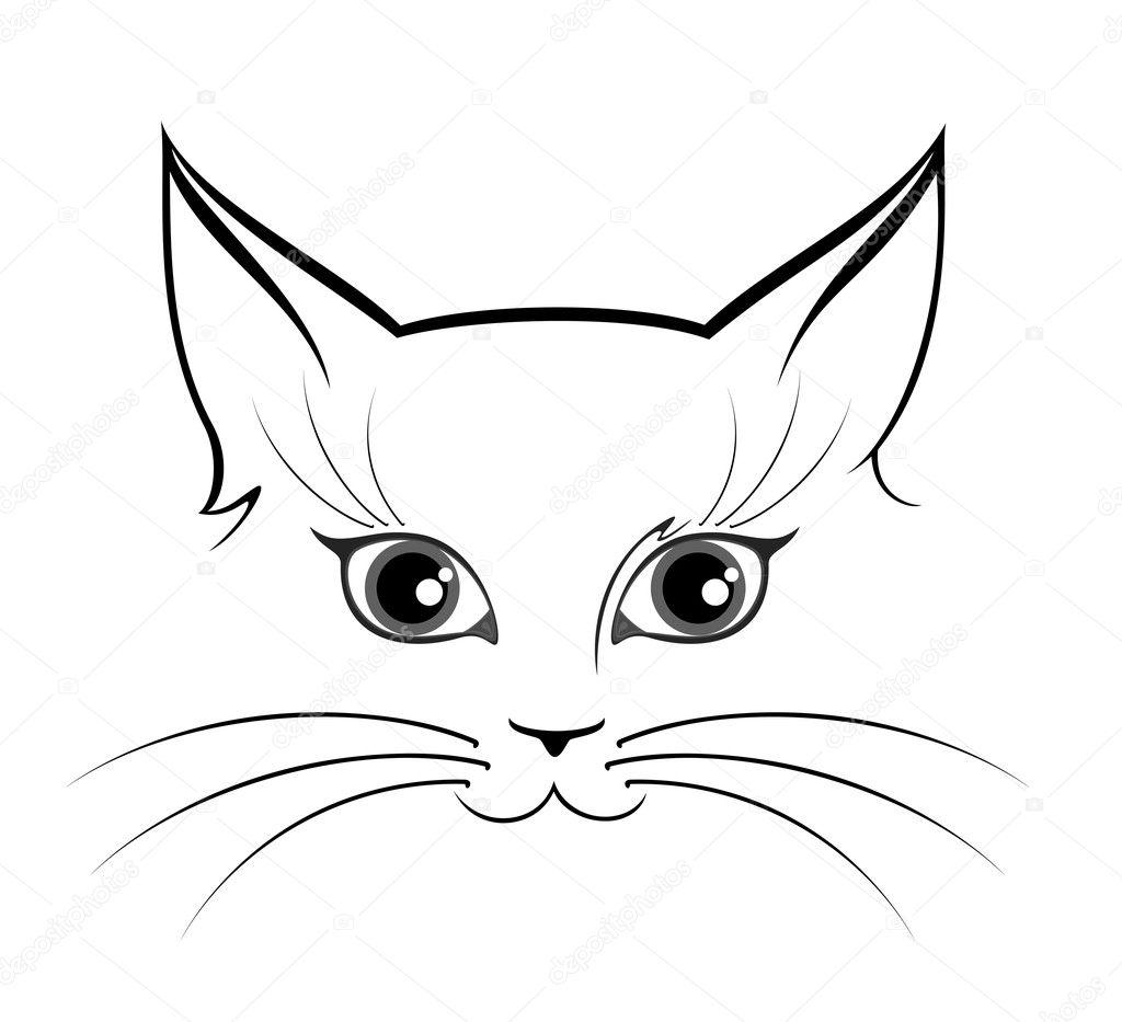 Картинка морда кота