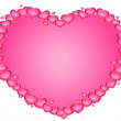 Beautiful heart for the day of sainted Valentine -  