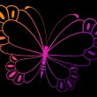 Royalty-Free Stock Vector Image: Vector beautiful butterfly