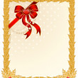 Royalty-Free Stock Vectorafbeeldingen: Beautiful Christmas frame on a white background