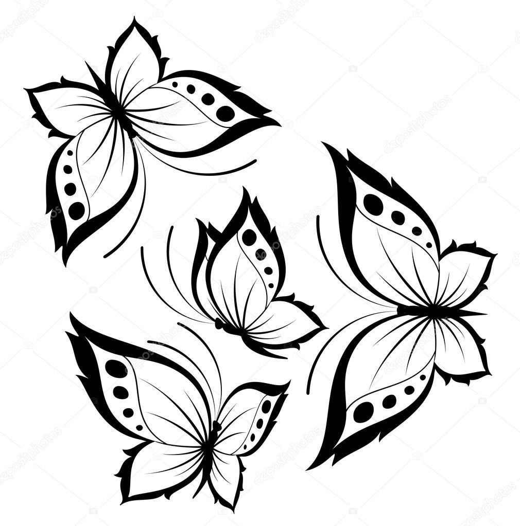 Cool Butterfly Designs To Draw