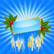 Beautiful christmas background — Stockvectorbeeld
