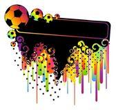 Footballs for a design — Stock Vector