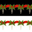 Beautiful Christmas garland — Stockfoto