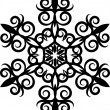 Royalty-Free Stock Photo: Decorative Snowflake.