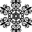 Decorative Snowflake. — Stockfoto