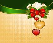 Beautiful Christmas background. — Stock Photo