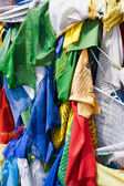 Tibetan praying flags — Stock Photo