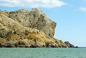 Alchak cabo. el mar negro. crimea. ucrania — Foto de Stock