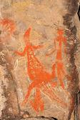 Arte rupestre aborígine — Foto Stock