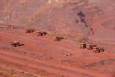 Iron ore mining — Stock Photo