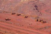 Minería de mineral de hierro — Foto de Stock