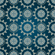 Vector seamless eastern pattern - Stock Vector