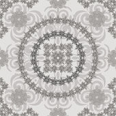 Vector seamless vintage floral retro pattern — Stock Vector