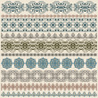 Royalty-Free Stock Vector Image: Vectorten  seamless vintage border pattern