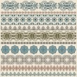 Vectorten seamless vintage border pattern — Stock Vector #7779907