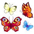 Stock Vector: Vector butterflies