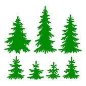 Fir-trees — Stock Vector