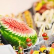 Buffet food closeup - Stock Photo
