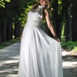 Beautiful bride outdoor — Stock Photo #6847852